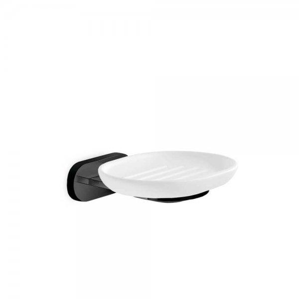 672011 Newfrom Linfa-ORama Matt Black Soap Dish_Stiles_Product_Image