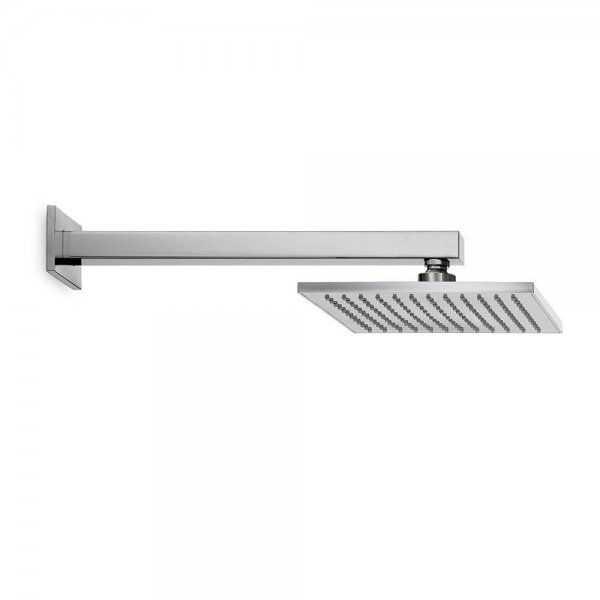 67797 Newform Ergo Q Square Shower rose and arm_Stiles_Product_Image