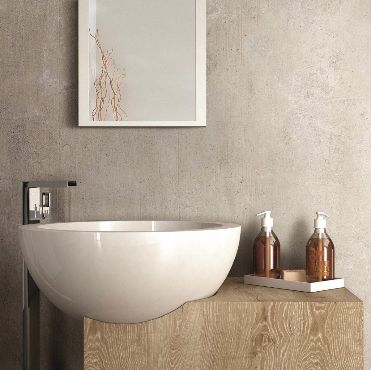 Florim Beton One Chalk 600x600mm_Stiles_Lifestyle_Image3