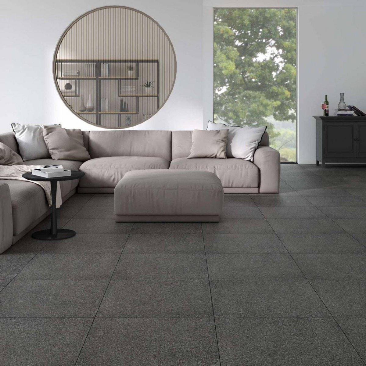 Zeus Spessorato Basalto 300x300mm_Stiles_Lifestyle_Image