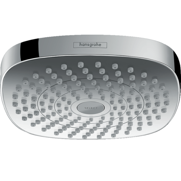 26524000 Hansgrohe Croma Select S Shower Rose 180mm (2 Jets)_Stiles_Product_Image