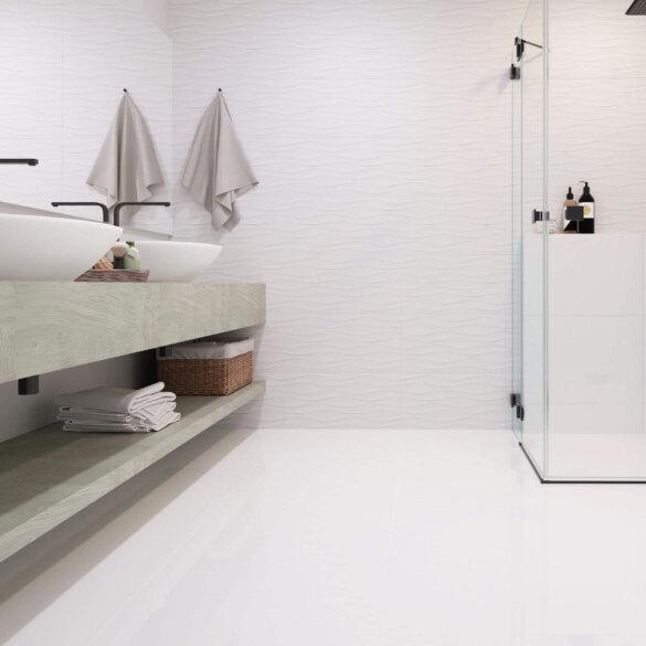 AngelGres Marino White Rectified 300x590mm_Stiles_Lifestyle_Image