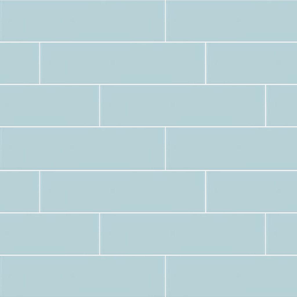 Mosaico Vero Aquarella Turkish Blue Gloss 75x300mm_Stiles_Product_Image