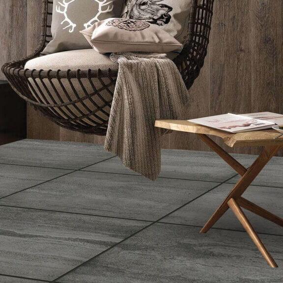 Kale Seramik Silverstone Anthracite Natural Rect 800x800mm_Stiles_Lifestyle_Image