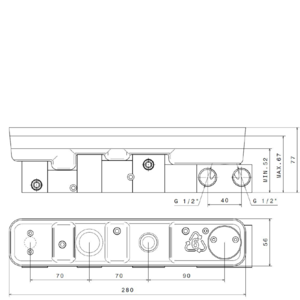 27862-N-Concealed-body-for-wall-bath-group_Stiles_TechDrawing_Image
