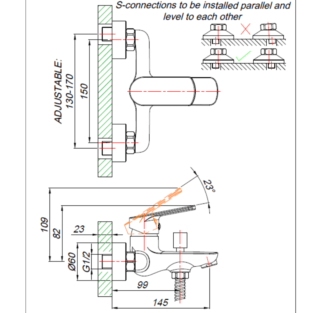 ST00030-BLUTIDE-SPRING-BATH-MIXER_Stiles_TechDrawing_Image