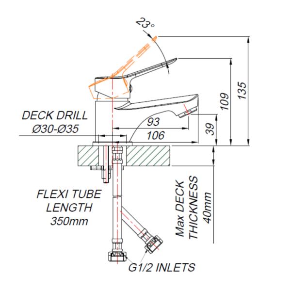 TT00011_TT00011_BLUTIDE-TEAL-BASIN-MIXER-SMALL-GUESTROOM_Stiles_TechDrawing_Image