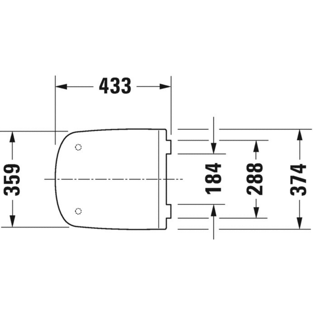 006379 DuraStyle SoftClose Toilet Seat and Cover_Stiles_TechDrawing_Image