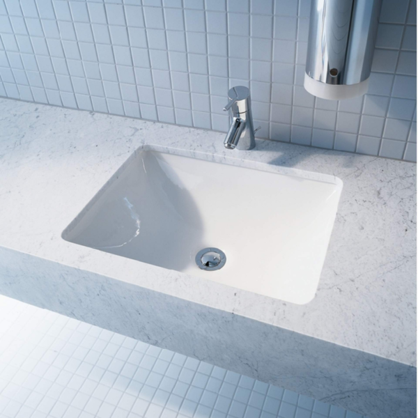 030549 Duravit Starck 3 undercounter basin 490x365mm_Stiles_Lifestyle_Image