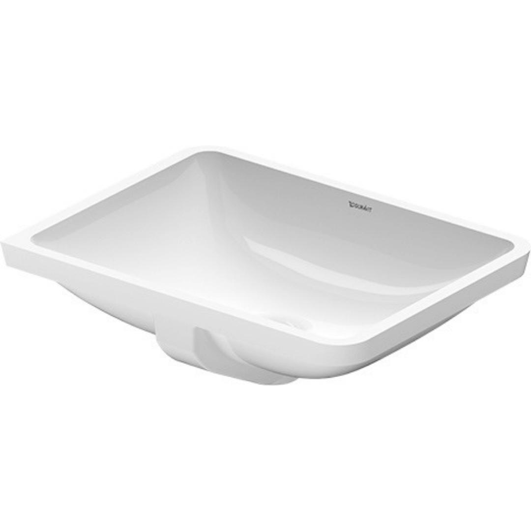 030549 Duravit Starck 3 undercounter basin 490x365mm_Stiles_Product_Image