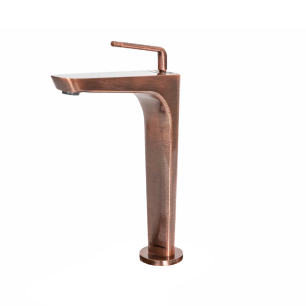 684153 Newform ORama Tall Copper Basin Mixer_Stiles_Product_Image