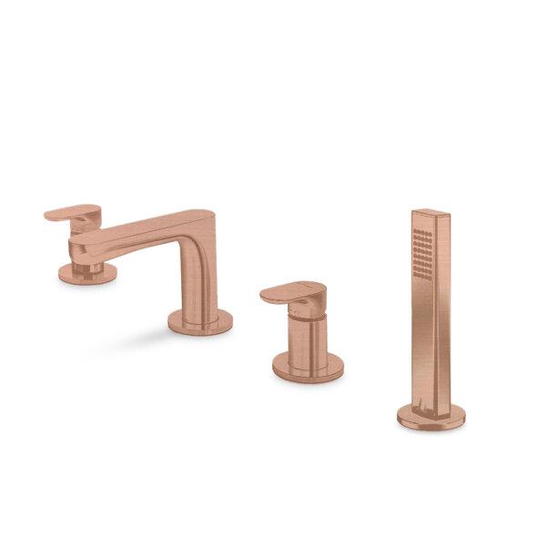 69482M N Linfa II Copper Bath Set_Stiles_Product_Image