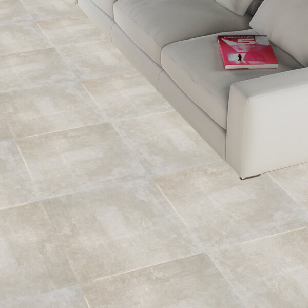 Essence OM Screed Crema Rectified 600x600mm_Stiles_Lifestyle_Image