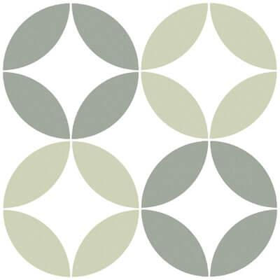 Geotiles Bora Green 223x223mm_Stiles_Product_Image
