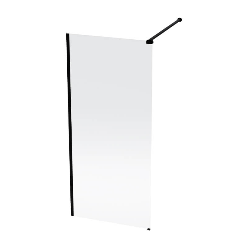 Luximo Lumin black shower screen 1200x2000x8mm_Stiles_Product_Image