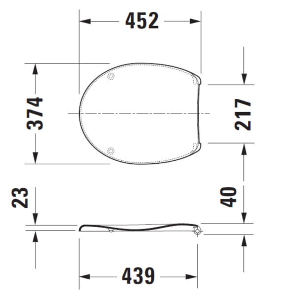 006429 Duravit Katja Soft Close Seat and Cover_Stiles_TechDrawing_Image