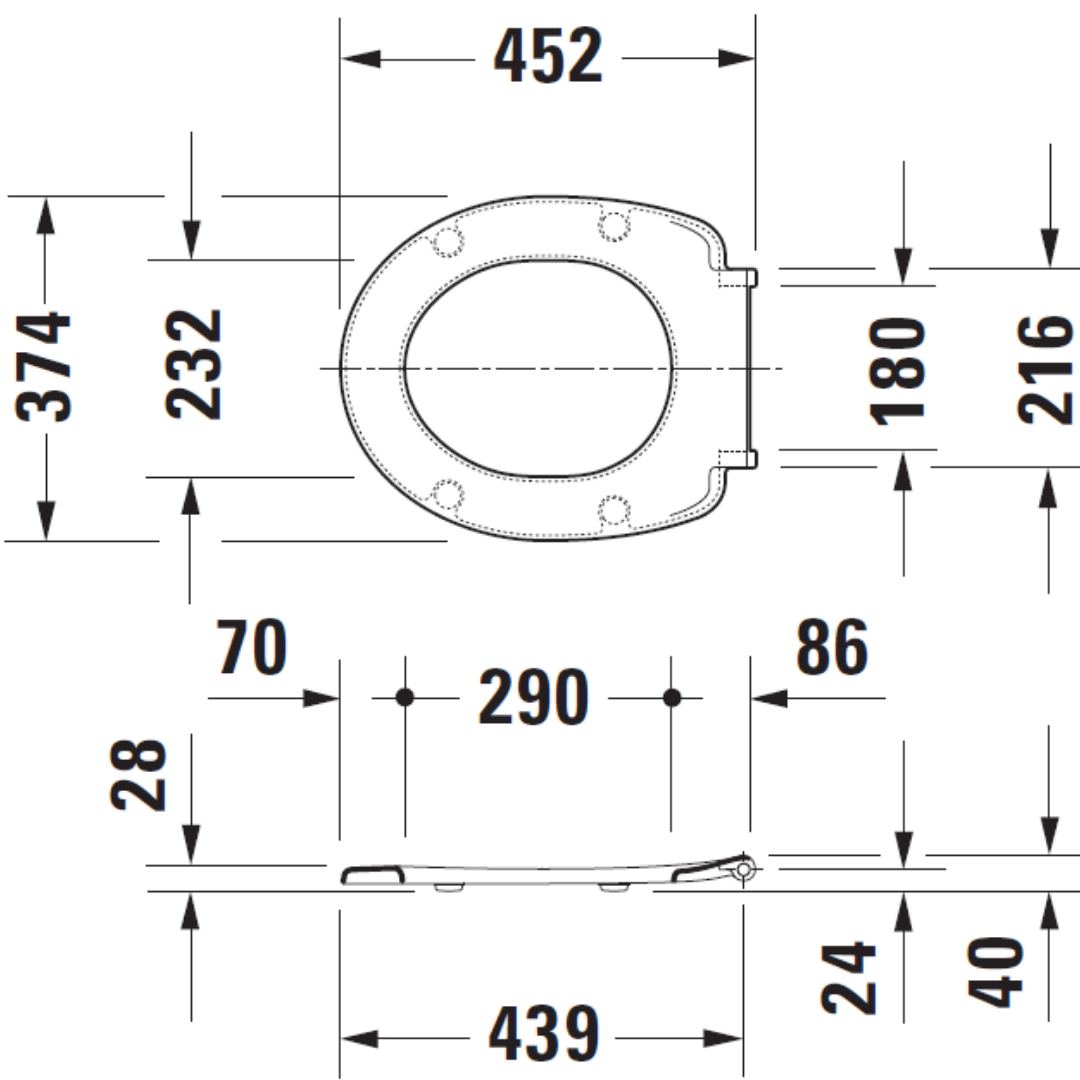 006429 Duravit Katja Soft Close Seat and Cover_Stiles_TechDrawing_Image2