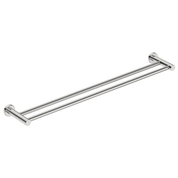 4685 BB SS Polished Double Towel Bar 800mm_Stiles_Product_Image