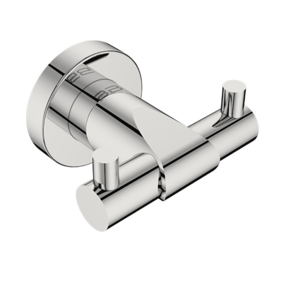 8211 BB SS Polished Double Robe Hook_Stiles_Product_Image