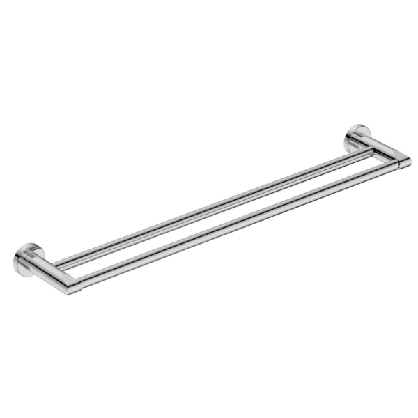 8282 BB SS Polished Double Towel Bar 650mm_Stiles_Product_Image
