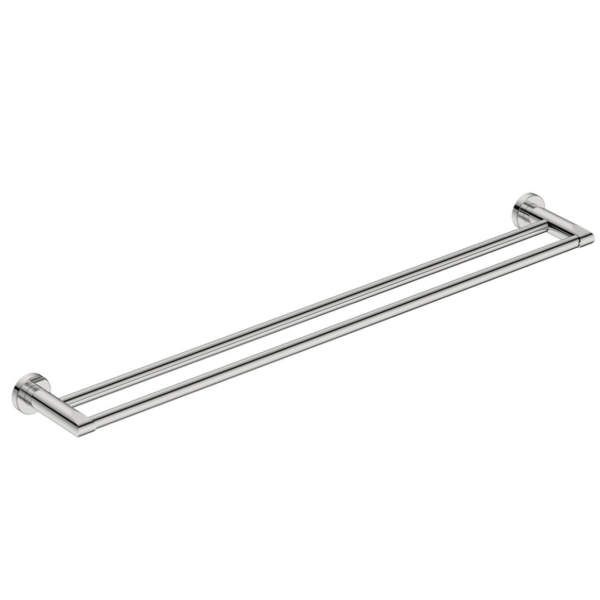 8285 BB SS Polished Double Towel Bar 800mm_Stiles_Product_Image