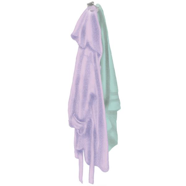 8511 BB SS Polished Double Robe Hook_Stiles_Lifestyle_Image