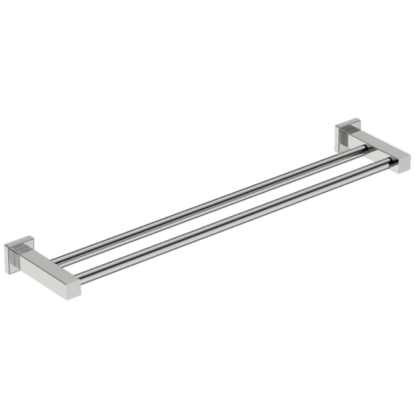 8582 BB SS Polished Double Towel Bar 650mm_Stiles_Product_Image