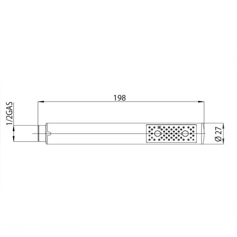 BOSSINI_B00250_ZEN HAND SHOWER_Stiles_Product_tech1