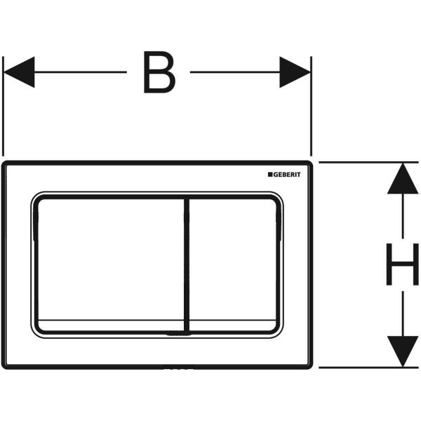 Geberit_115.055.46.1_Geberit actuator plate Alpha30 for dual flush_tech2