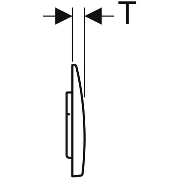 Geberit_115.045.46.1_Geberit actuator plate Alpha15 for dual flush_tech3