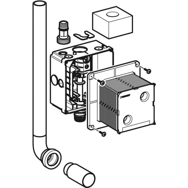 Geberit_116.003.001_Geberit installation set with flush pipe, for urinal flush control, universal_tech1