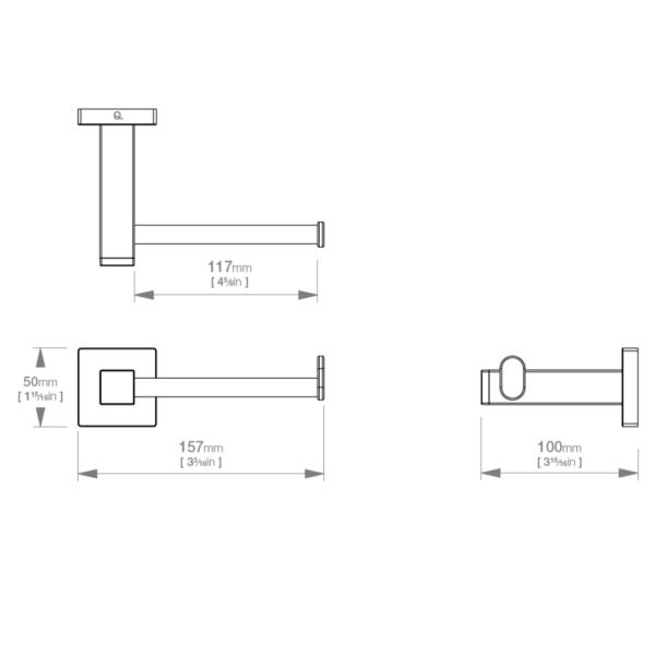 LR2401 LR Elemental Paper Holder_Stiles_TechDrawing_Image