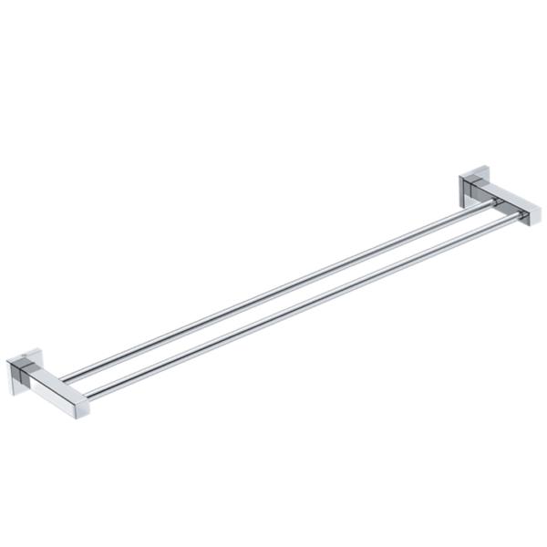 LR2485 LR Elemental Double Towel Rail 800mm_Stiles_Product_Image