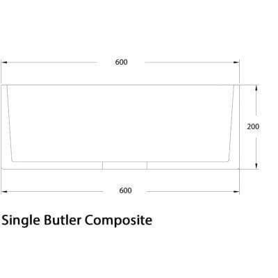 ROSSCO _BUB700_SINGLE BUTLER COMPOSITE 600X400_Stiles_Product_tech