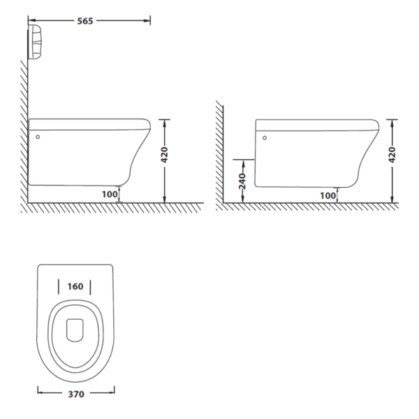 TH01208A Betta Diplomat WH with seat and cover_Stiles_TechDrawing_Image