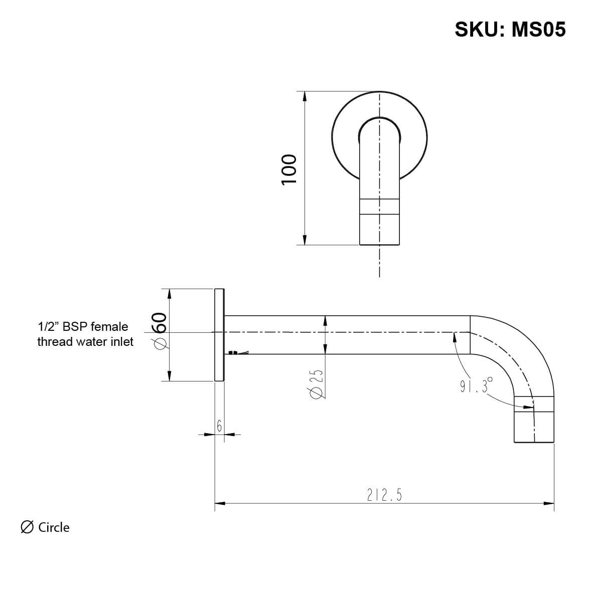 meir_MS05-C_ROUND WALL BATH SPOUT CHROME_Stiles_Product_tech-01