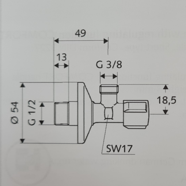 Schell 10x15 Angle Valve_Stiles_TechDrawing_Image